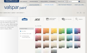 28 Valspar Paint Color Visualizer